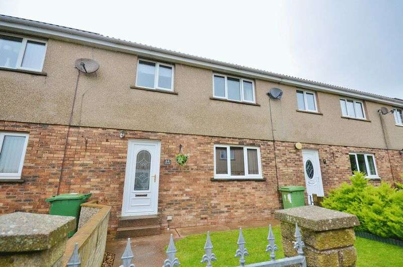 3 Bedrooms Terraced House for sale in Whitecroft, Maryport