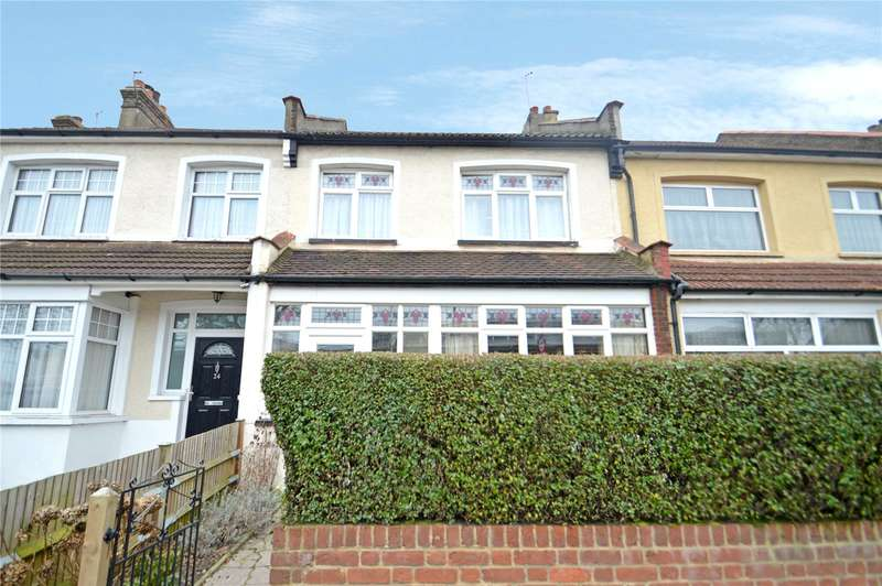 3 Bedrooms Terraced House for sale in Shirley Road, Croydon