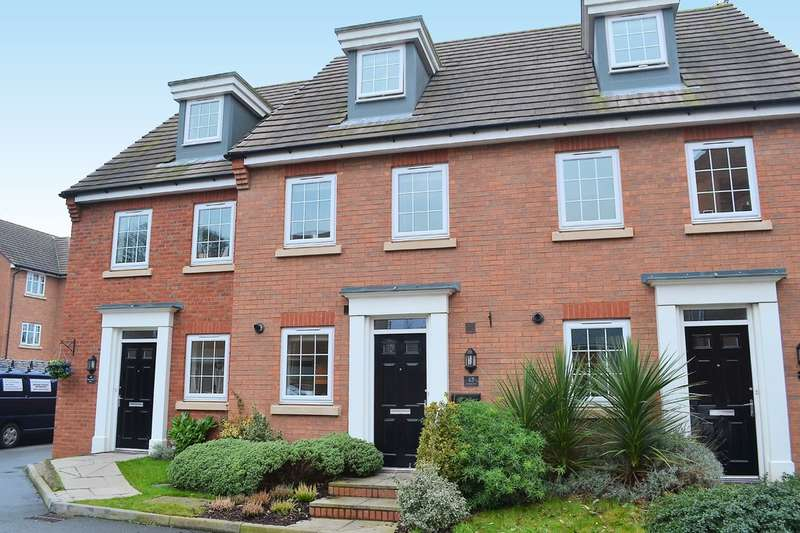 3 Bedrooms Terraced House for sale in Mary Slater Road, Lichfield