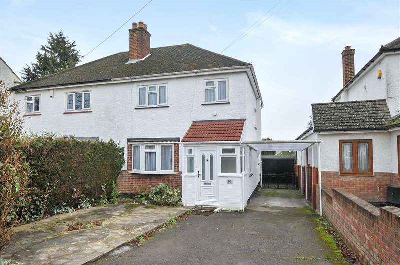 3 Bedrooms Semi Detached House for sale in Cranbourne Road, Northwood Hills, Middlesex, HA6