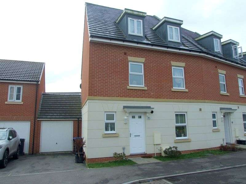 4 Bedrooms Terraced House for sale in Ferris Way, Paxcroft Mead