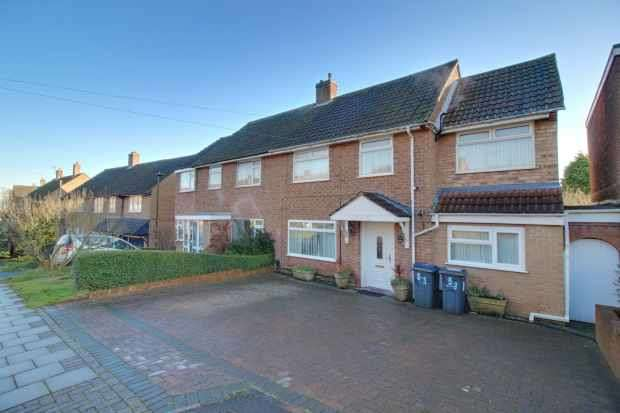 6 Bedrooms Semi Detached House for sale in Long Mynd Road, Birmingham, West Midlands, B31 1HJ