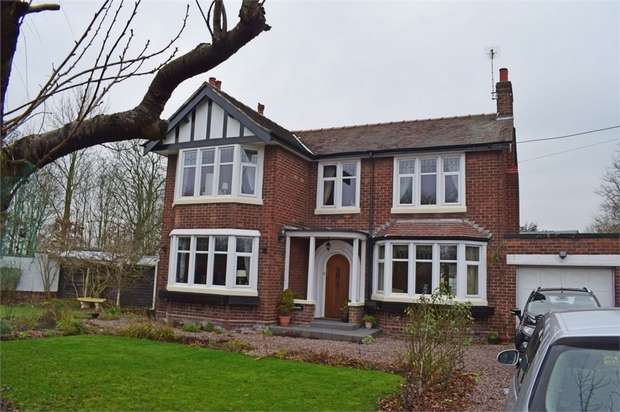 4 Bedrooms Detached House for sale in Greenfield Lane, Chester, Cheshire