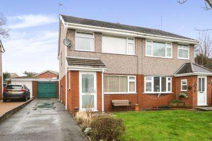 3 Bedrooms Semi Detached House for sale in Ash Grove, Leeswood, Mold, Flintshire, CH7
