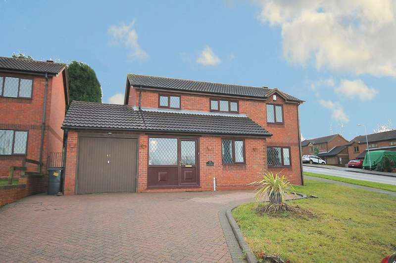 3 Bedrooms Detached House for sale in Middlesmoor, Wilnecote, Tamworth, B77 4PL