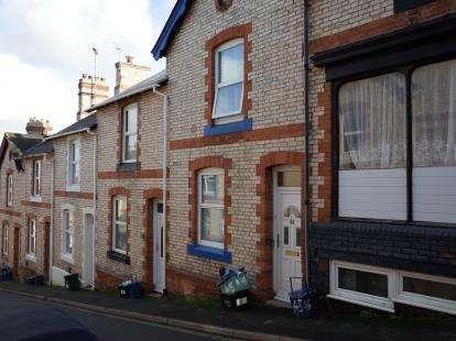 2 Bedrooms Terraced House for sale in Newton Abbot, Devon