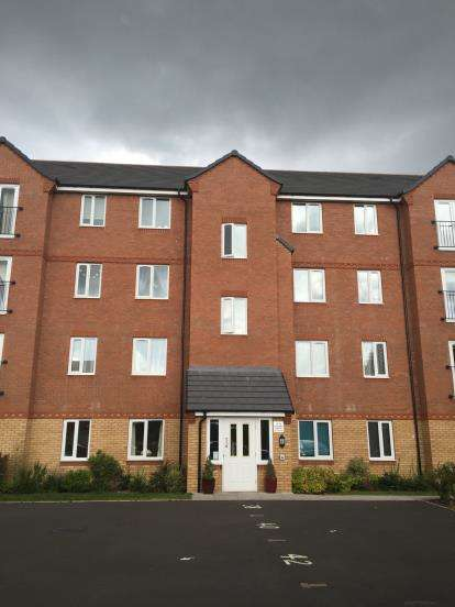 2 Bedrooms Flat for sale in Wellspring Gardens, Dudley, West Midlands