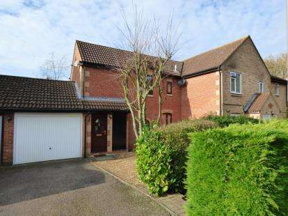 2 Bedrooms Semi Detached House for sale in Wellfield Court, Willen, Milton Keynes, Buckinghamshire