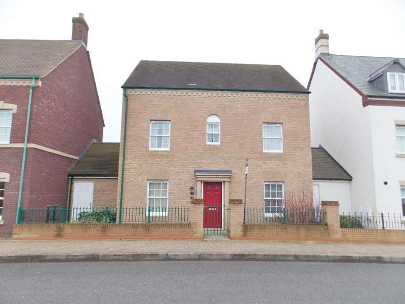 4 Bedrooms Detached House for sale in East Wichel Way, Wichelstowe, Swindon, SN1 7AE