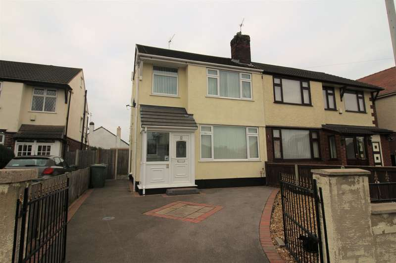 3 Bedrooms Semi Detached House for sale in Digg Lane, Moreton, Wirral, CH46 6AG