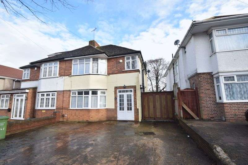 3 Bedrooms Semi Detached House for sale in Halfway Avenue, Luton