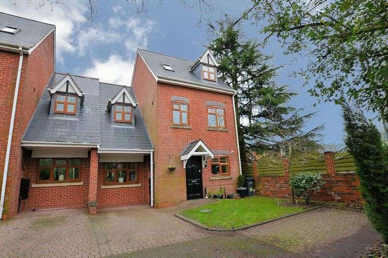 4 Bedrooms Terraced House for sale in Village Mews, Quinton