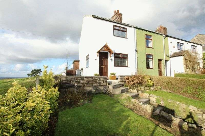 2 Bedrooms Terraced House for sale in The Hollow, Mow Cop