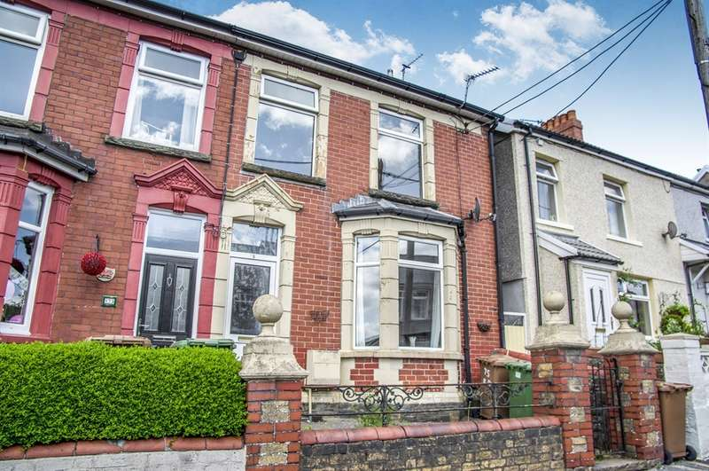 3 Bedrooms End Of Terrace House for sale in Bedwellty Road, Aberbargoed, Bargoed