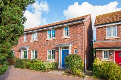 3 Bedrooms End Of Terrace House for sale in Gloucester Court, Croxley Green, Rickmansworth