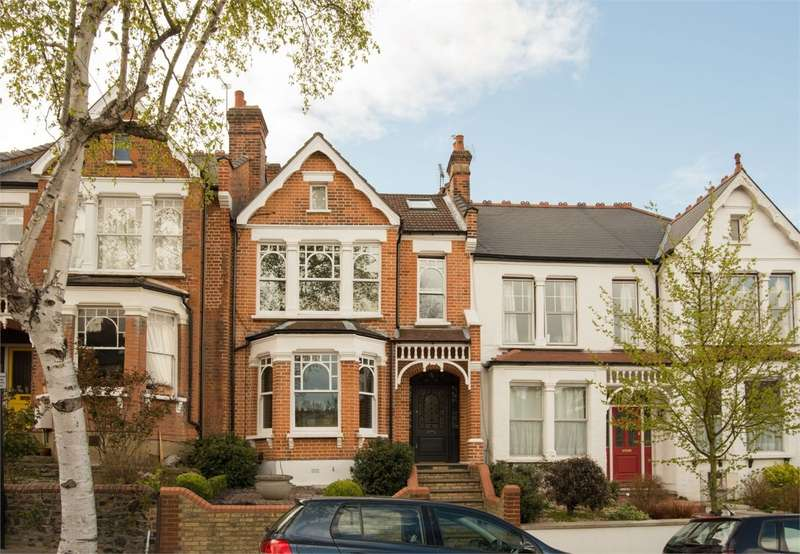 5 Bedrooms Terraced House for sale in Cranbourne Road, Muswell Hill, London