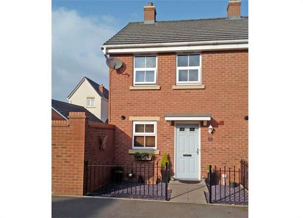 2 Bedrooms Semi Detached House for sale in Stamping Way, Bloxwich, Walsall, West Midlands