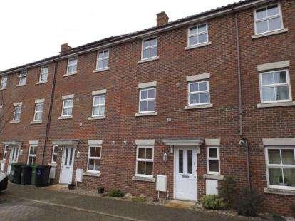 4 Bedrooms Terraced House for sale in Wymondham, Norfolk