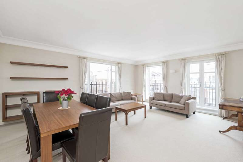 3 Bedrooms Apartment Flat for sale in Sycamore Lodge, Stone Hall Gardens, Kensington Green, W8