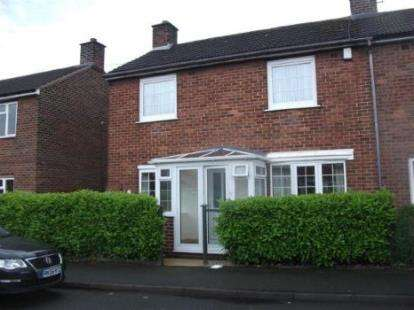 3 Bedrooms Semi Detached House for sale in Almond Grove, Wrexham, Wrecsam, LL13