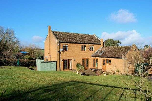 4 Bedrooms Detached House for sale in Pine Court, Little Brington, Northampton NN7 4EZ