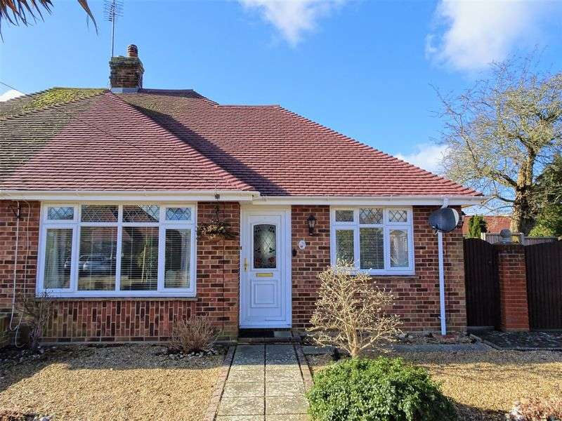 2 Bedrooms Semi Detached Bungalow for sale in Plantation Way, Worthing