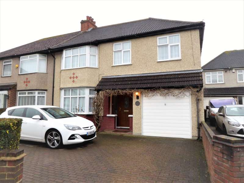 4 Bedrooms Semi Detached House for sale in Bowness Road, Bexleyheath, Kent, DA7 5AA