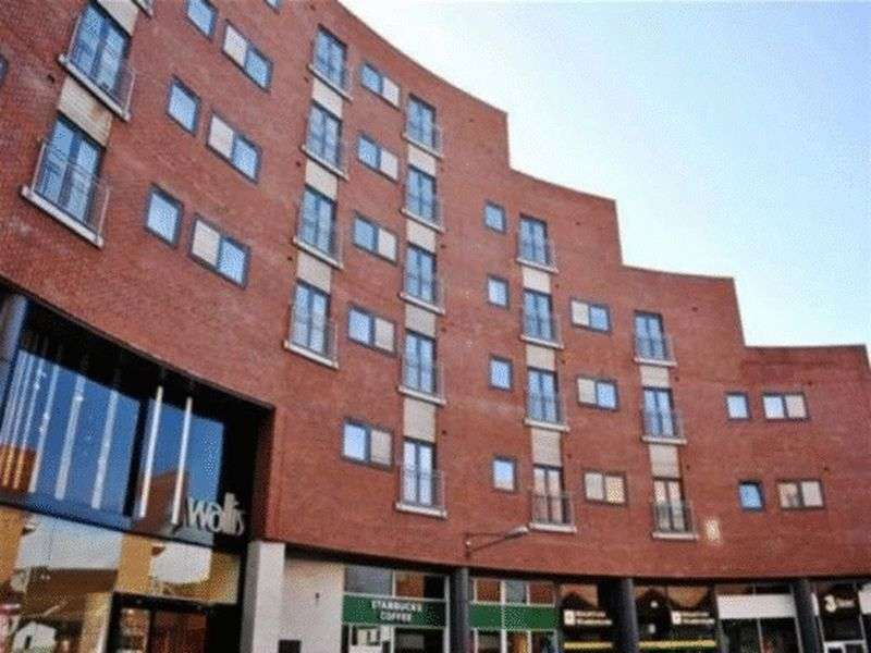2 Bedrooms Flat for sale in Eagles Court, Wrexham