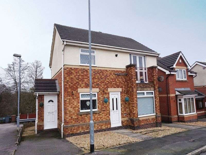 2 Bedrooms Flat for sale in Shakespeare Close, Milton, Stoke-On-Trent, ST2 7QG