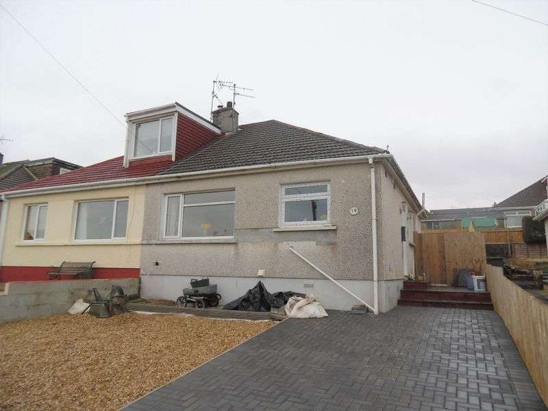 2 Bedrooms Semi Detached Bungalow for sale in Coleridge Close Cefn Glas Bridgend CF31 4QB