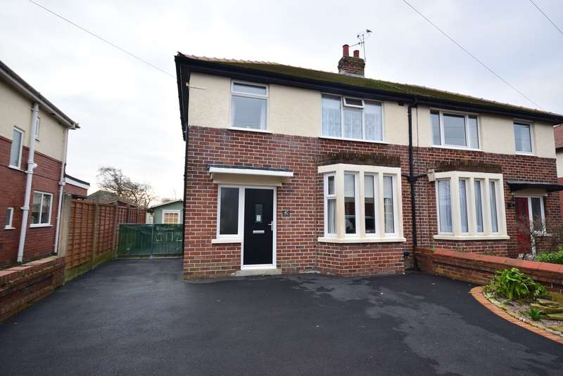 3 Bedrooms Semi Detached House for sale in Ashley Road, Lytham St Annes, FY8
