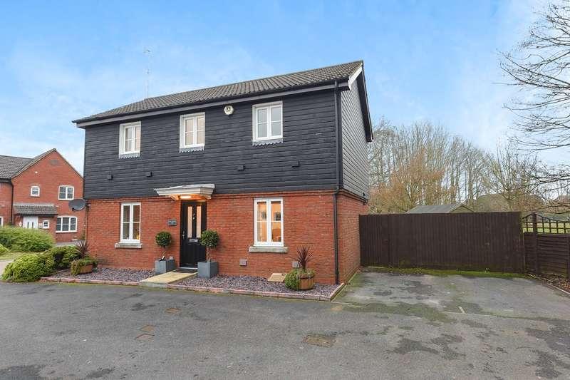 3 Bedrooms Detached House for sale in Breadels Field, Beggarwood, Basingstoke, RG22