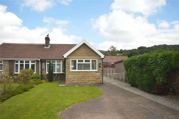2 Bedrooms Semi Detached Bungalow for sale in Nettleton Road, Dalton, HUDDERSFIELD, West Yorkshire
