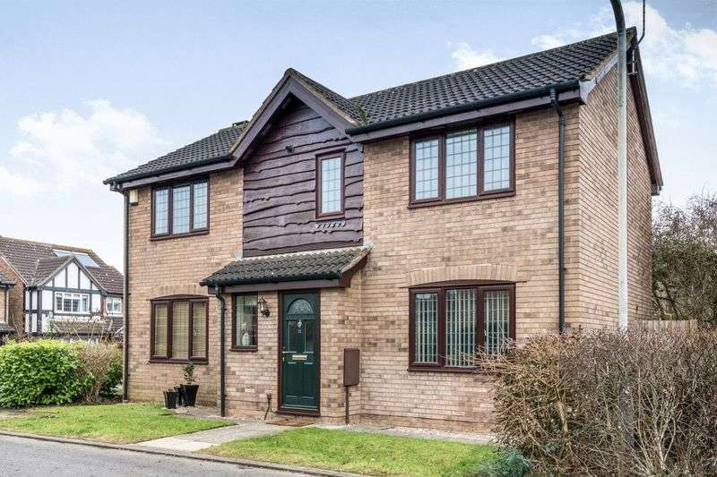 4 Bedrooms Detached House for sale in Flora Thompson Drive, Newport Pagnell