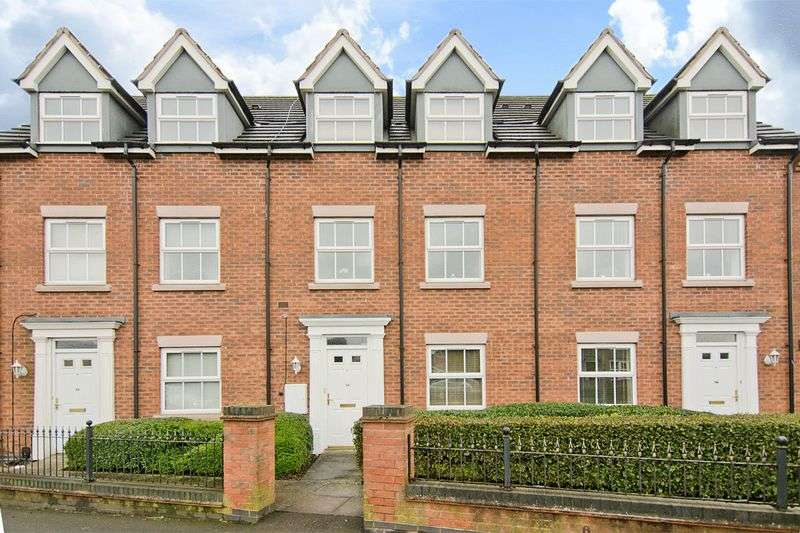 4 Bedrooms Terraced House for sale in Oak Drive, Mile Oak, Tamworth