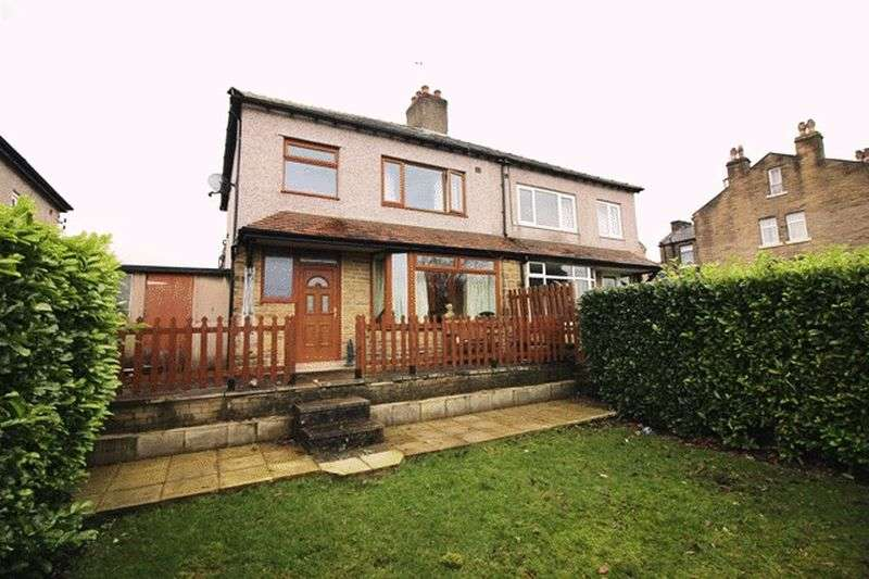 3 Bedrooms Semi Detached House for sale in Bell Hall View, Halifax