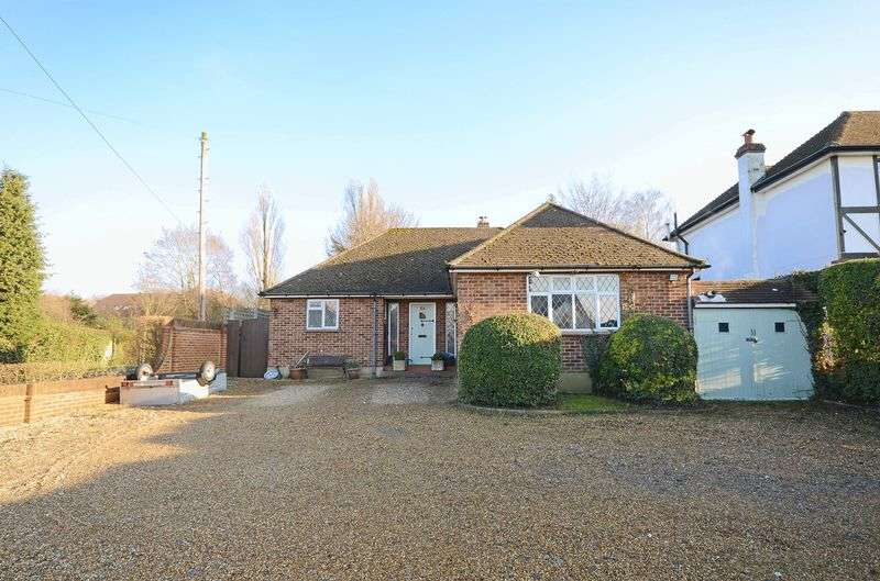 3 Bedrooms Detached Bungalow for sale in Ruden Way, Epsom Downs