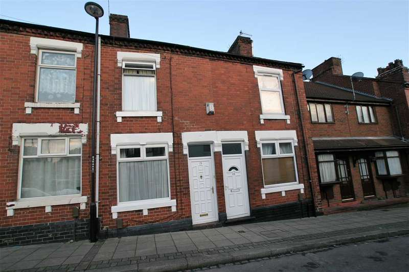 2 Bedrooms Terraced House for sale in Eagle Street, Hanley