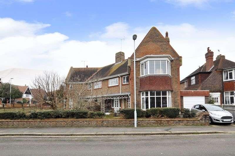 4 Bedrooms Semi Detached House for sale in Heene Way, Worthing