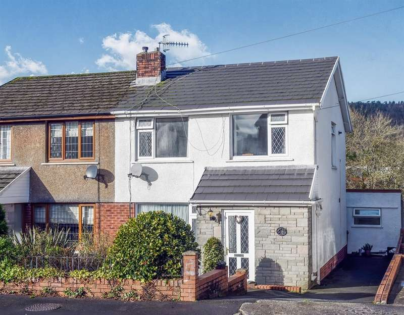 3 Bedrooms Semi Detached House for sale in Dyffryn View, Neath