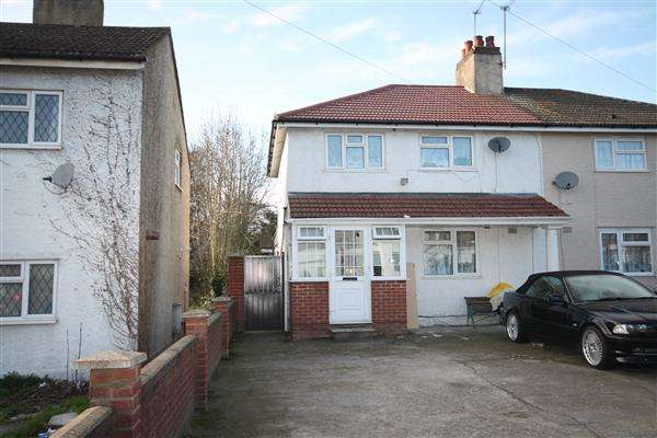 4 Bedrooms Semi Detached House for sale in Pole Hill Road, Hillingdon