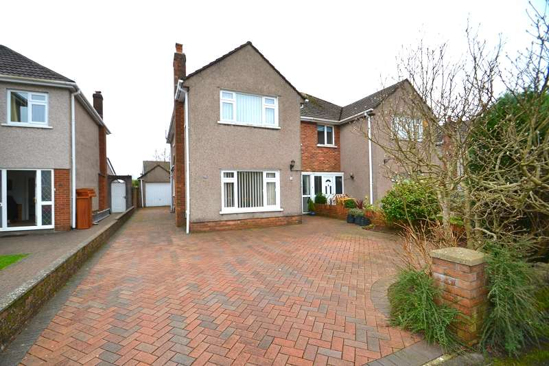 3 Bedrooms Semi Detached House for sale in Heol Lewis , Rhiwbina, Cardiff. CF14 6QB
