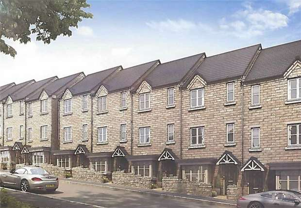 3 Bedrooms Town House for sale in Stonegate, Linthwaite, Huddersfield