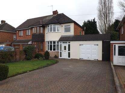 3 Bedrooms Semi Detached House for sale in Wyckham Road, Castle Bromwich, Birmingham, West Midlands