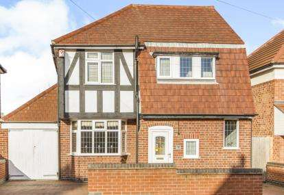 3 Bedrooms Detached House for sale in Johnson Road, Birstall, Leicester, Leicestershire