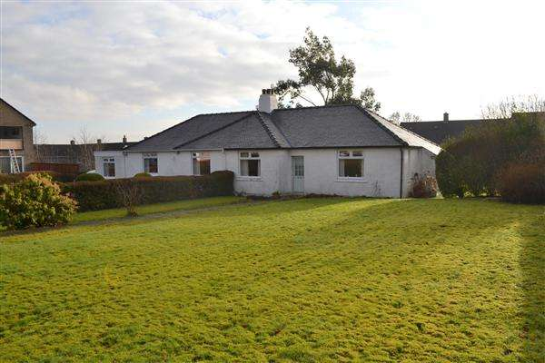 3 Bedrooms Semi Detached Bungalow for sale in Maxwellton Road, Calderwood, East Kilbride