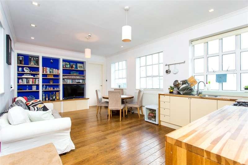 2 Bedrooms Flat for sale in Woodstock Studios, 36 Woodstock Grove, Shepherds Bush, W12