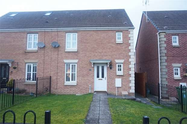 3 Bedrooms Semi Detached House for sale in Roman Gate, Gelligaer, HENGOED, Caerphilly