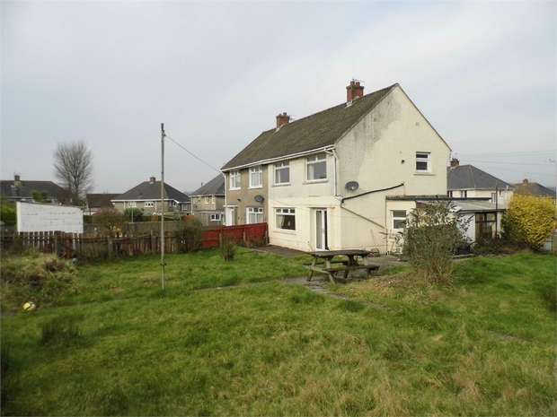 3 Bedrooms Semi Detached House for sale in The Retreat, Sarn, Bridgend, Mid Glamorgan