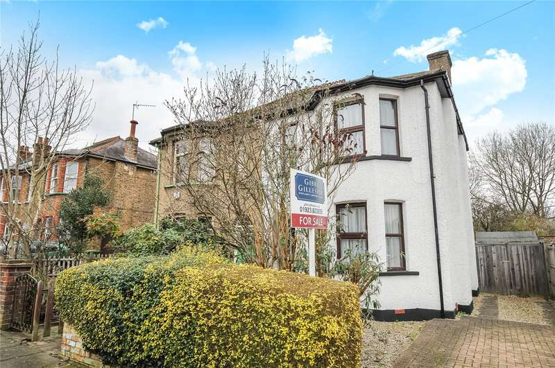 3 Bedrooms Semi Detached House for sale in Reginald Road, Northwood, Middlesex, HA6